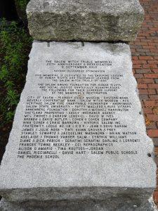 At the Memorial Site