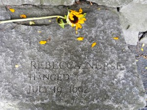 Rebecca Nurse- HANGED 1692