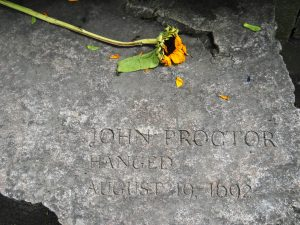John Proctor - HANGED 1692