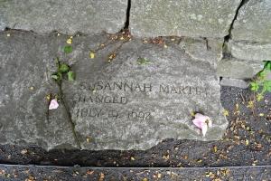 Suzannah Martin-hanged 1692