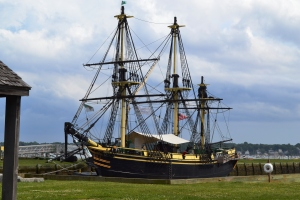 Lovely Replica of a Ship in the 17th Century