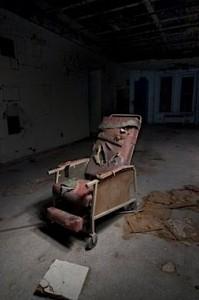 Remnants leftover at Danvers State Hospital