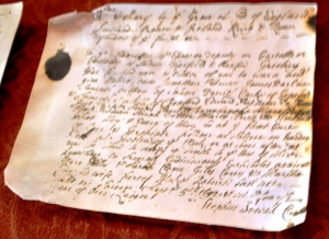 Actual [signed by jurors] Declaration 1692