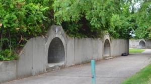 WW-ll Bunkers where artillery was hidden